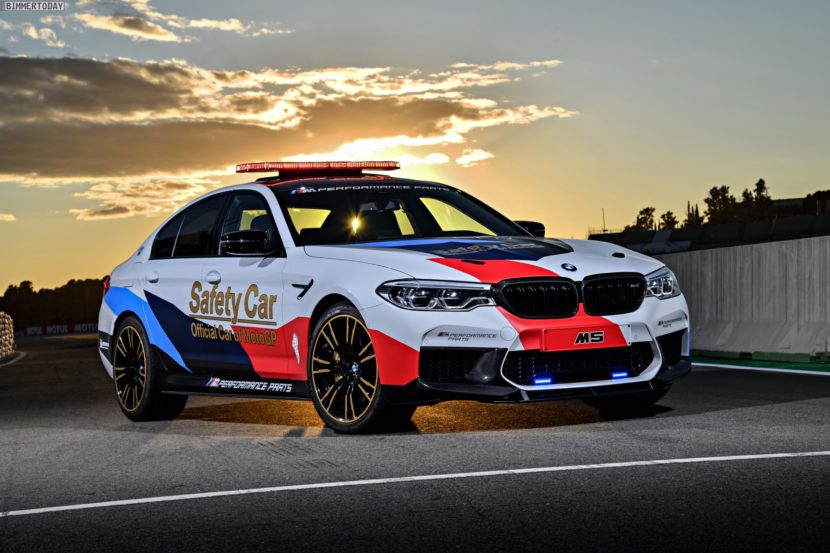 BMW M5 Safety Car 2017 MotoGP Valencia F90 24 830x553