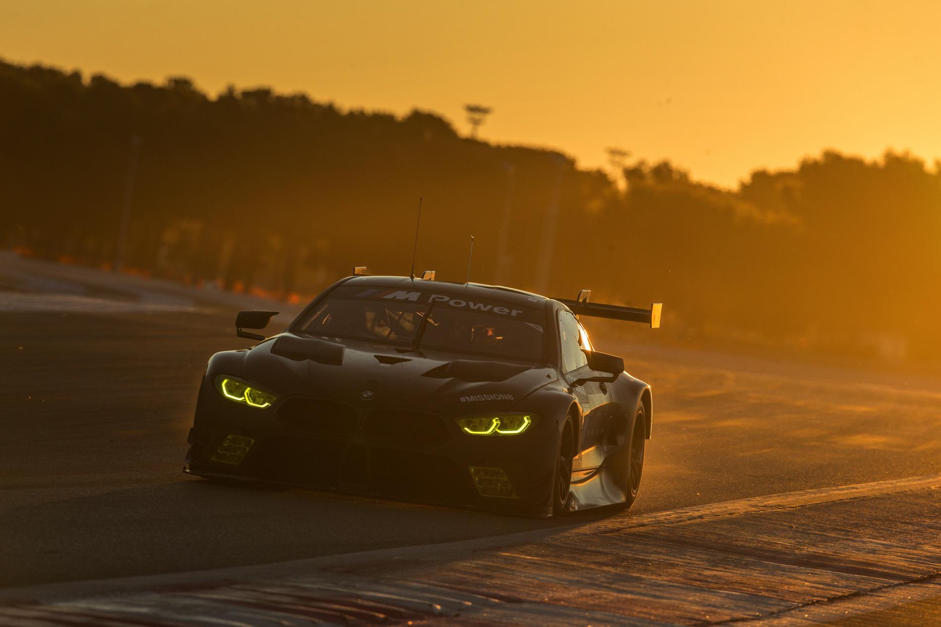 BMW M8 GTE test 07