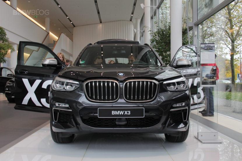 BMW Niederlassung BMW X3 18 830x553