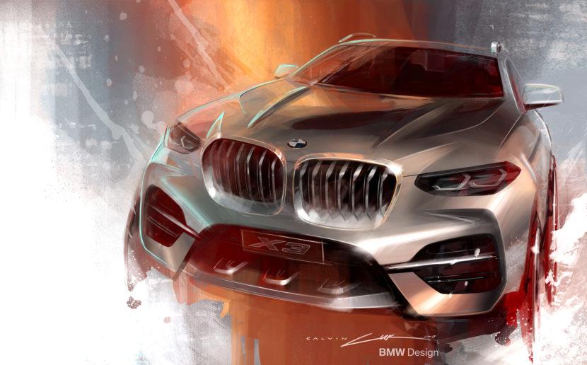 BMW X3 sketch 830x516