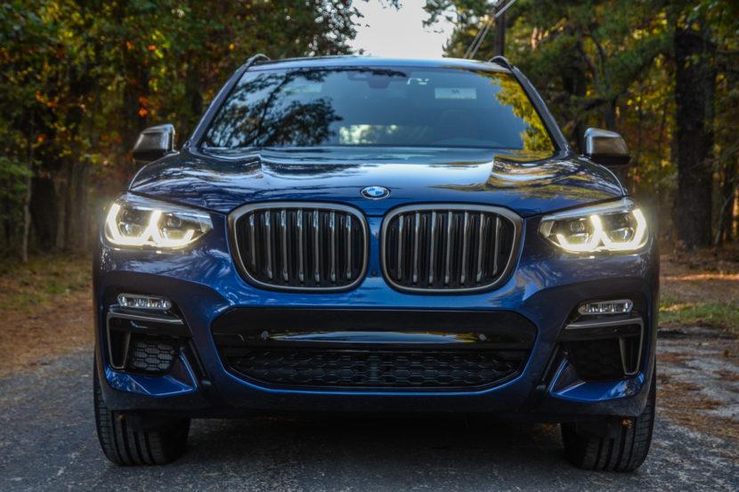 BMW X3 xDrive M40i 12 830x553