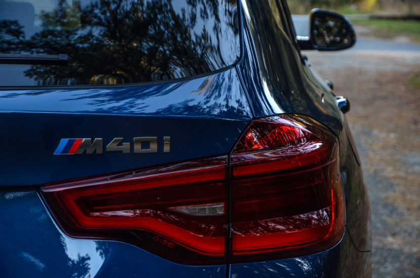 BMW X3 xDrive M40i 45 830x550