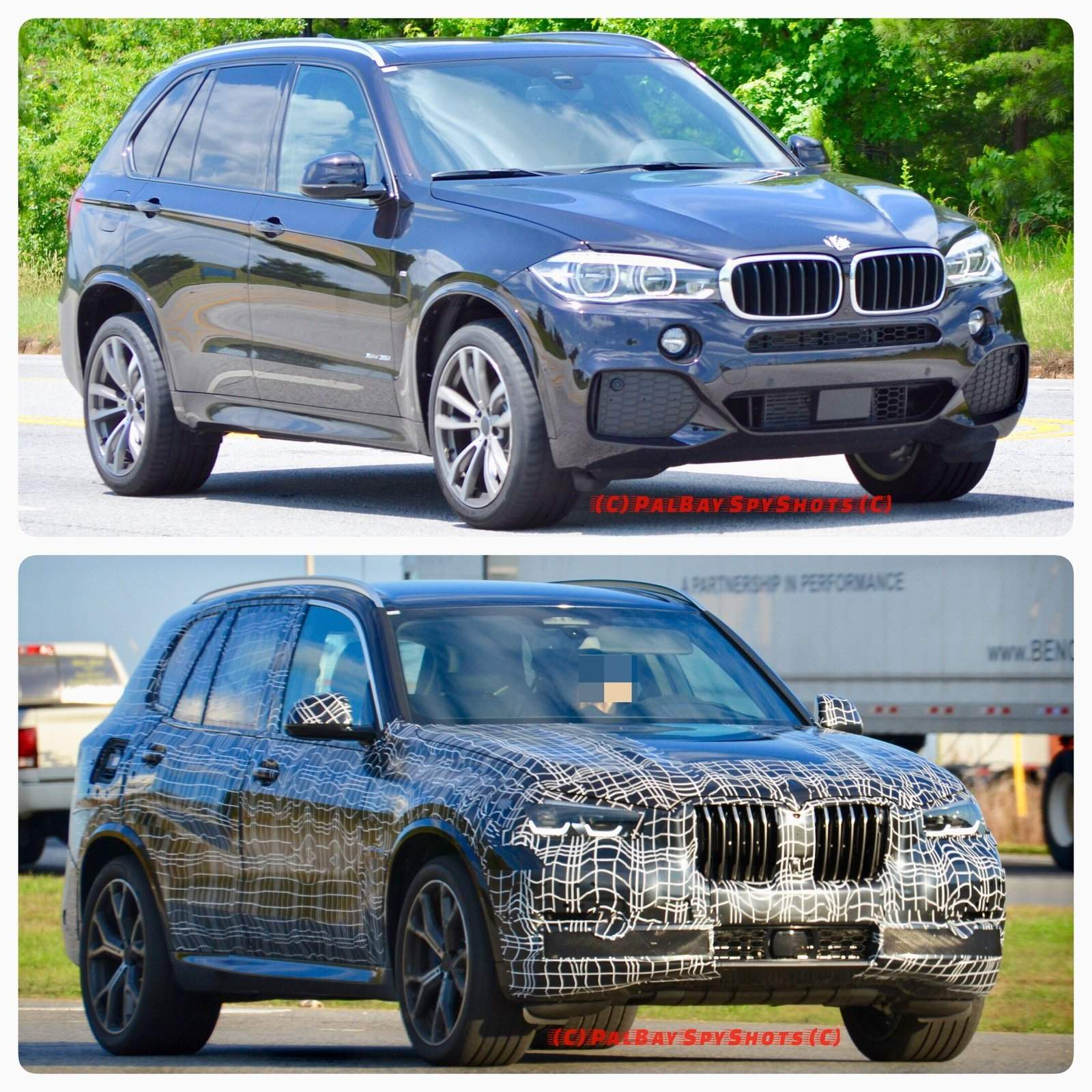 Bmw Xs5: Photo Comparison: Spied G05 BMW X5 Vs F15 BMW X5