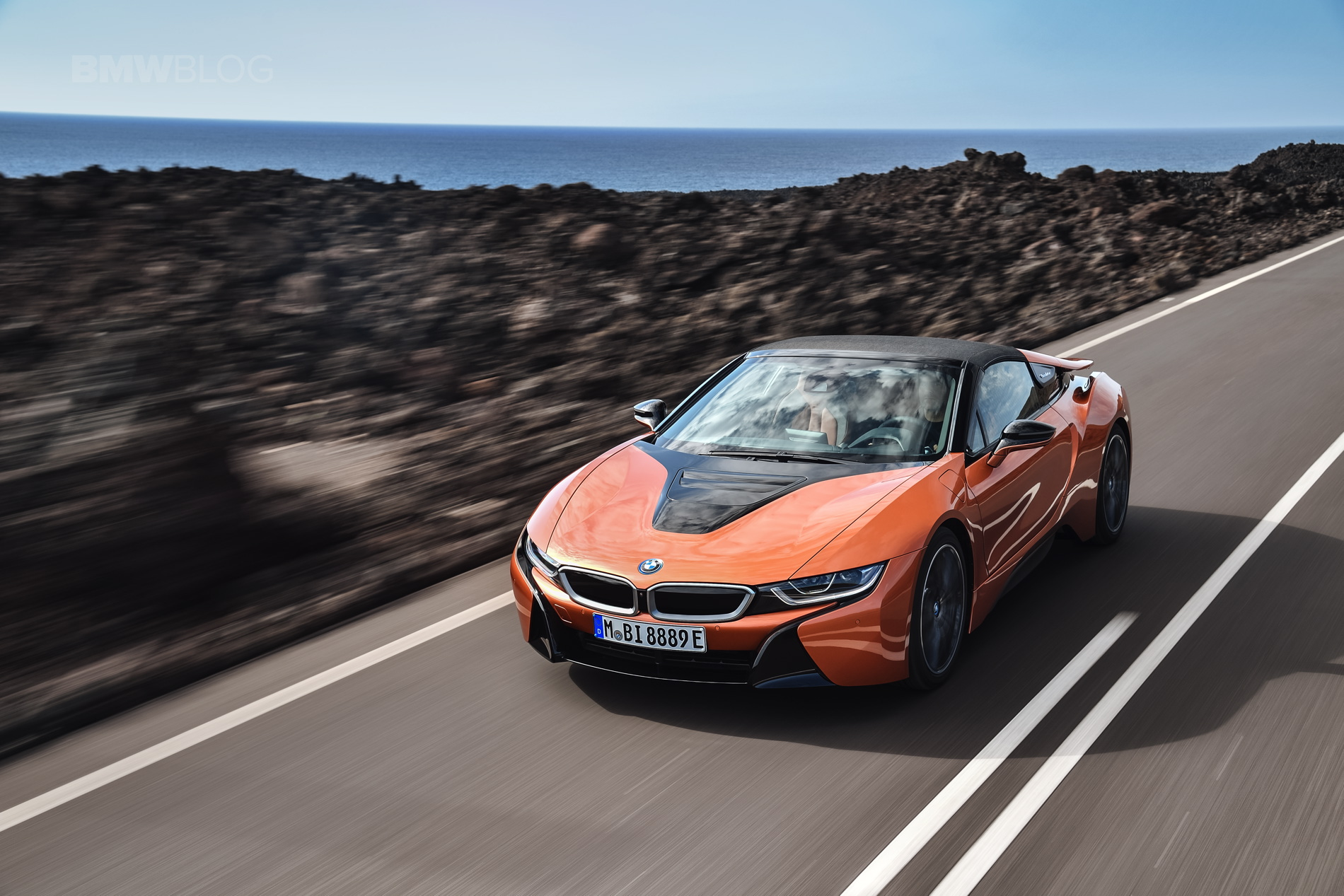 World Premiere Bmw I8 Roadster The Future Goes Topless