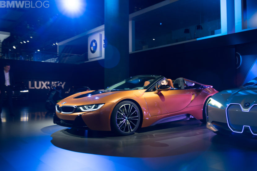 New Bmw I8 Roadster To Be Priced At 163 300 In The Us