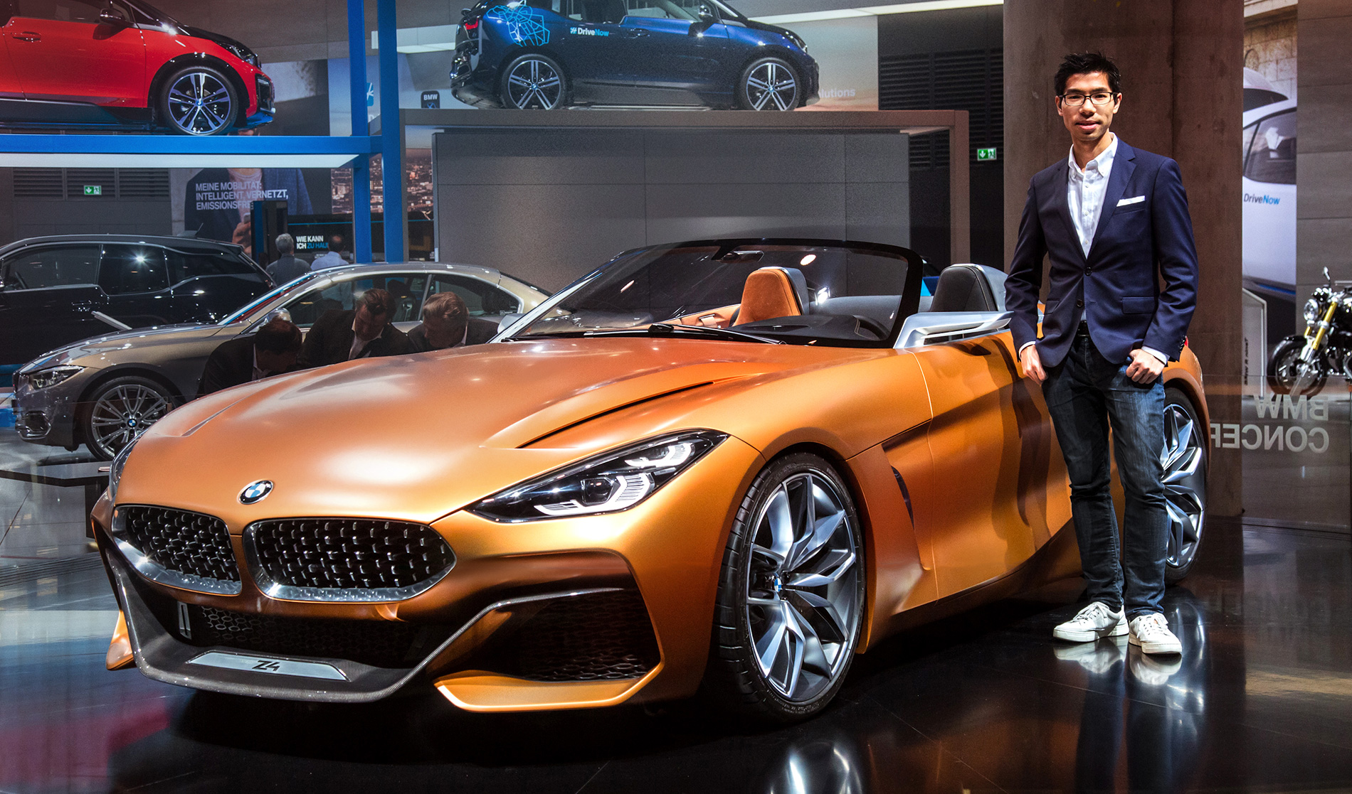 Exclusive Interview With Bmw X3 And Concept Z4 Designer Calvin Luk