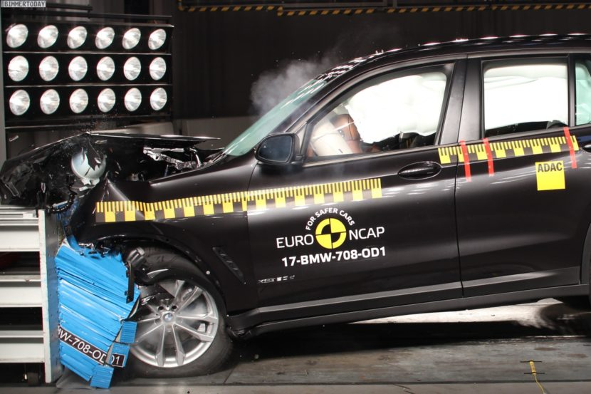 Euro NCAP Crashtest 2017 BMW X3 G01 01 830x553