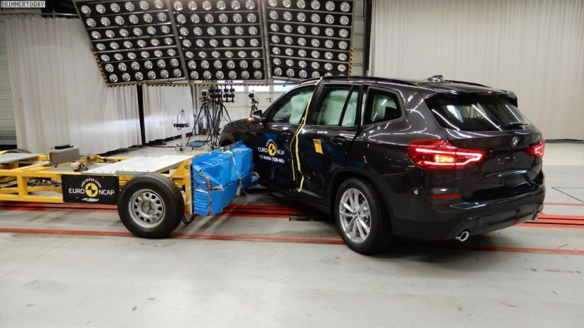 Euro NCAP Crashtest 2017 BMW X3 G01 03 830x467