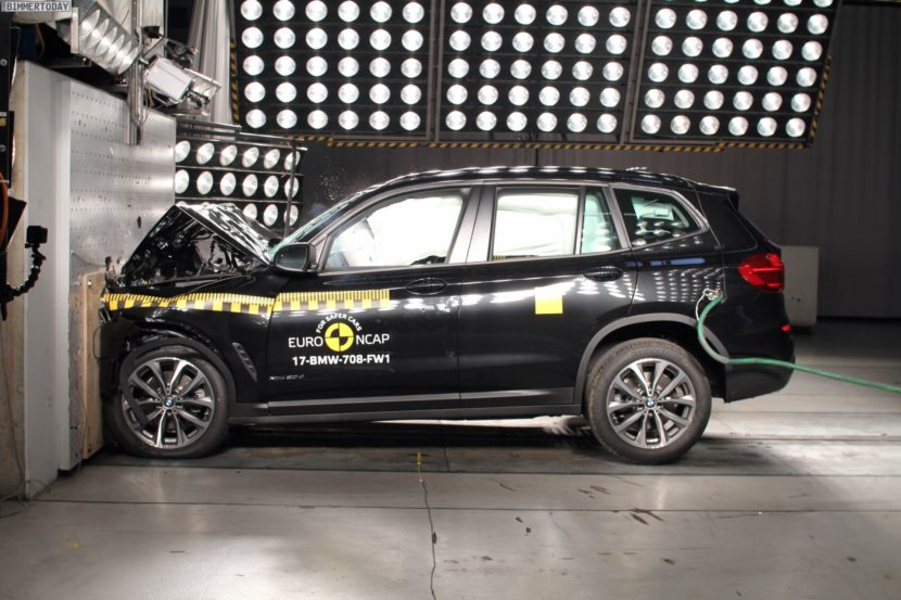 Euro NCAP Crashtest 2017 BMW X3 G01 07 830x553