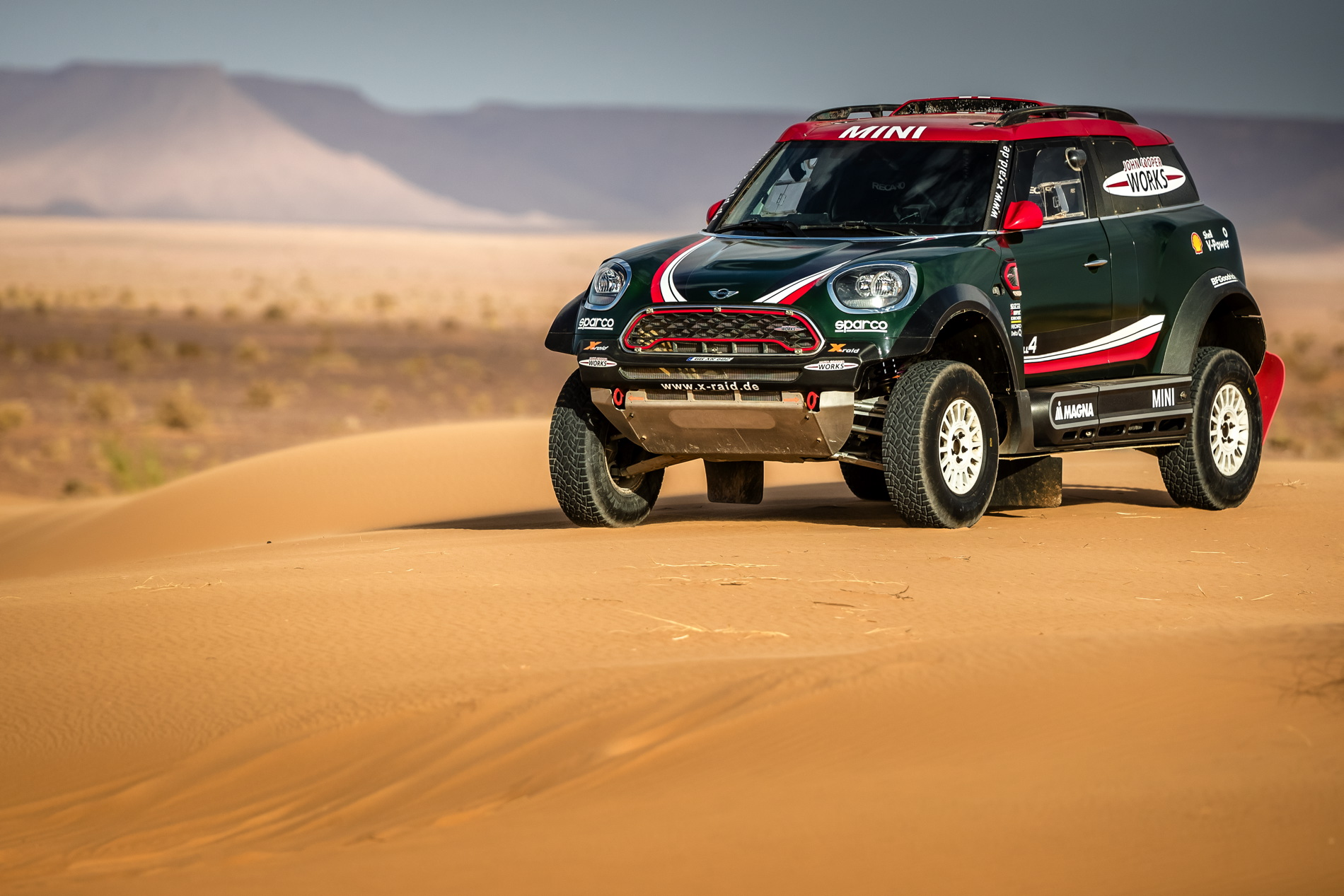 Mini Cooper 2019 >> MINI John Cooper Works Buggy to race in Dakar Rally 2018