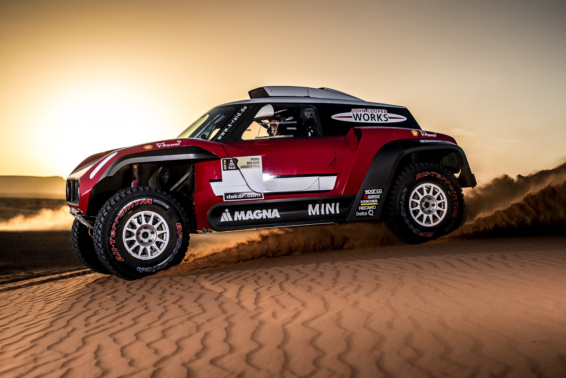 MINI John Cooper Works Buggy to race in Dakar Rally 2018