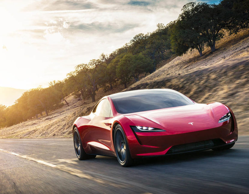 Tesla Semi Truck Elon Musk >> Tesla unveils Roadster 2 with 0 to 60 mph in under 2 seconds