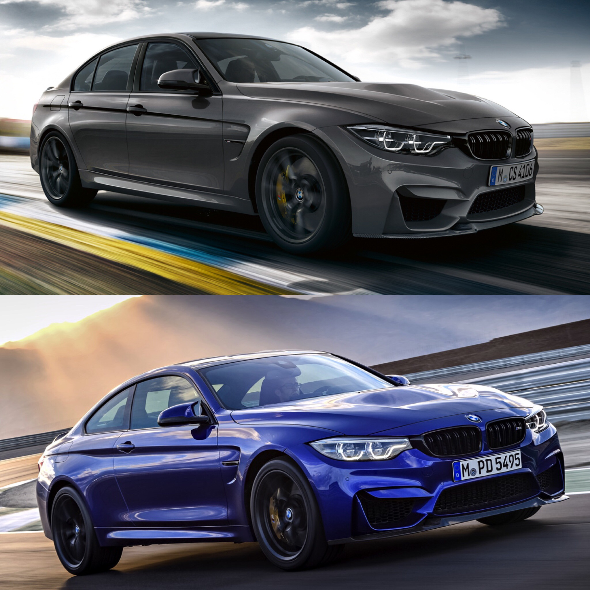 Photo Comparison Bmw M3 Cs Vs Bmw M4 Cs