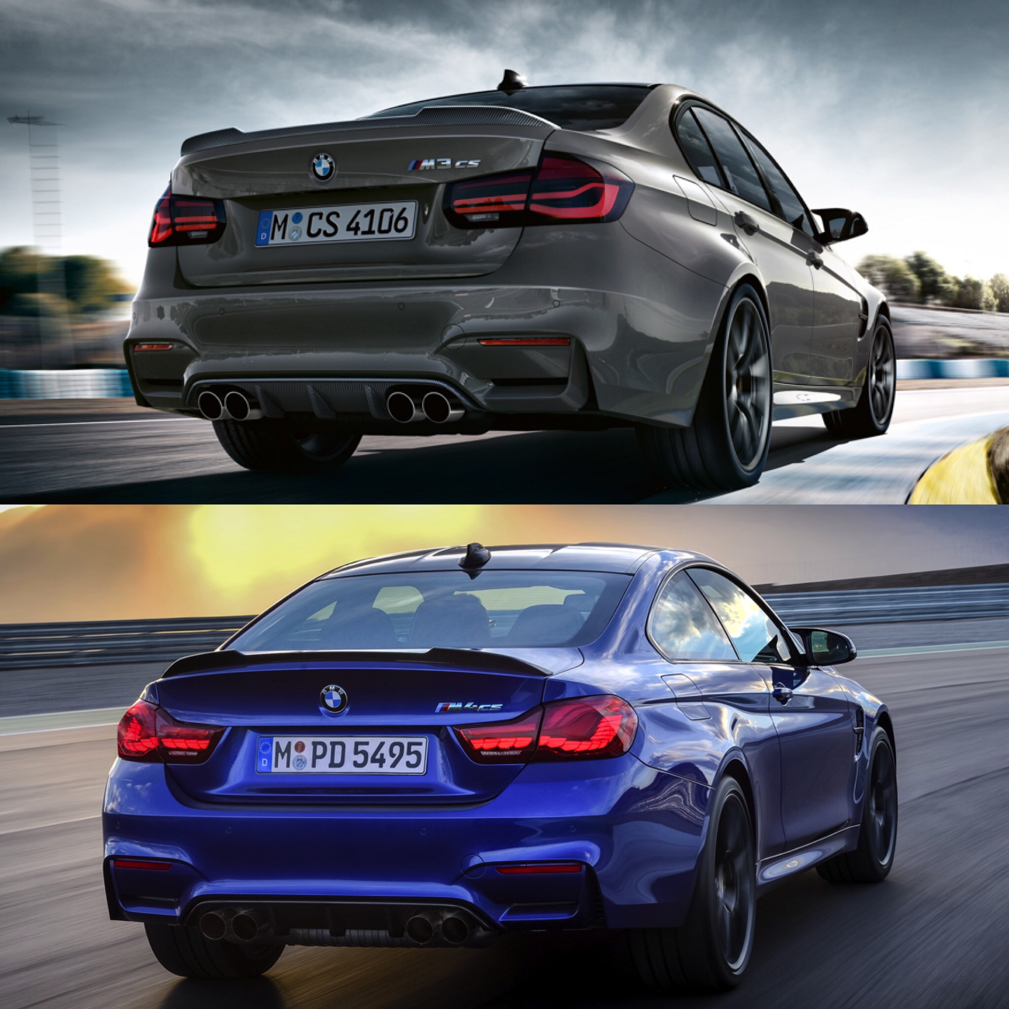 Bmw M3: Photo Comparison: BMW M3 CS Vs BMW M4 CS