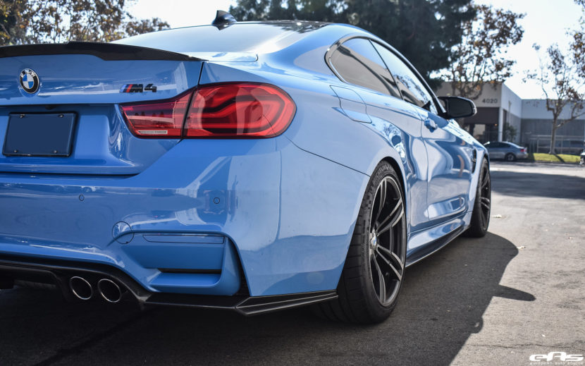 Yas Marina Blue BMW M4 Build by At European Auto Source Image 11 830x519