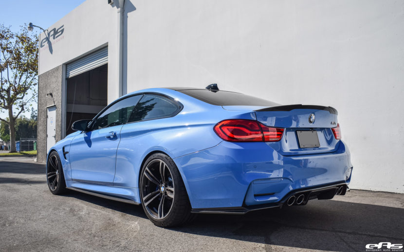 Yas Marina Blue Bmw M4 Gets Subtle Upgrades By At European