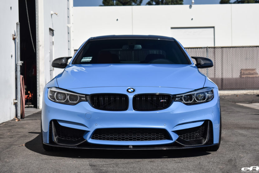 Yas Marina Blue BMW M4 Build by At European Auto Source Image 8 830x553