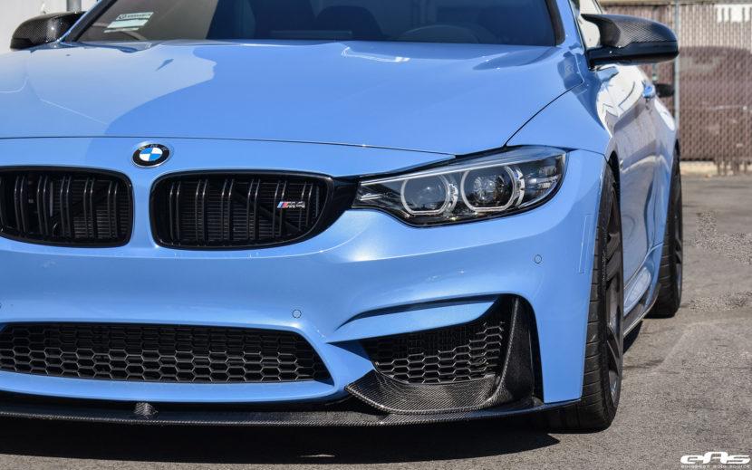 Yas Marina Blue BMW M4 Build by At European Auto Source