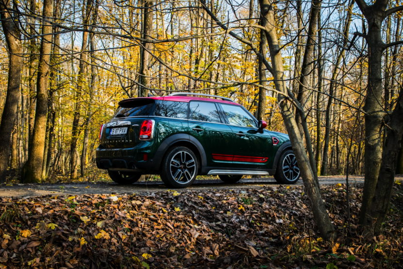 2017 MINI Countryman John Cooper Works review 34 830x553