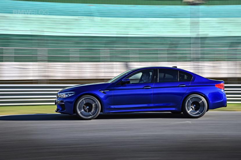 2018 BMW M5 test drive 100 830x553