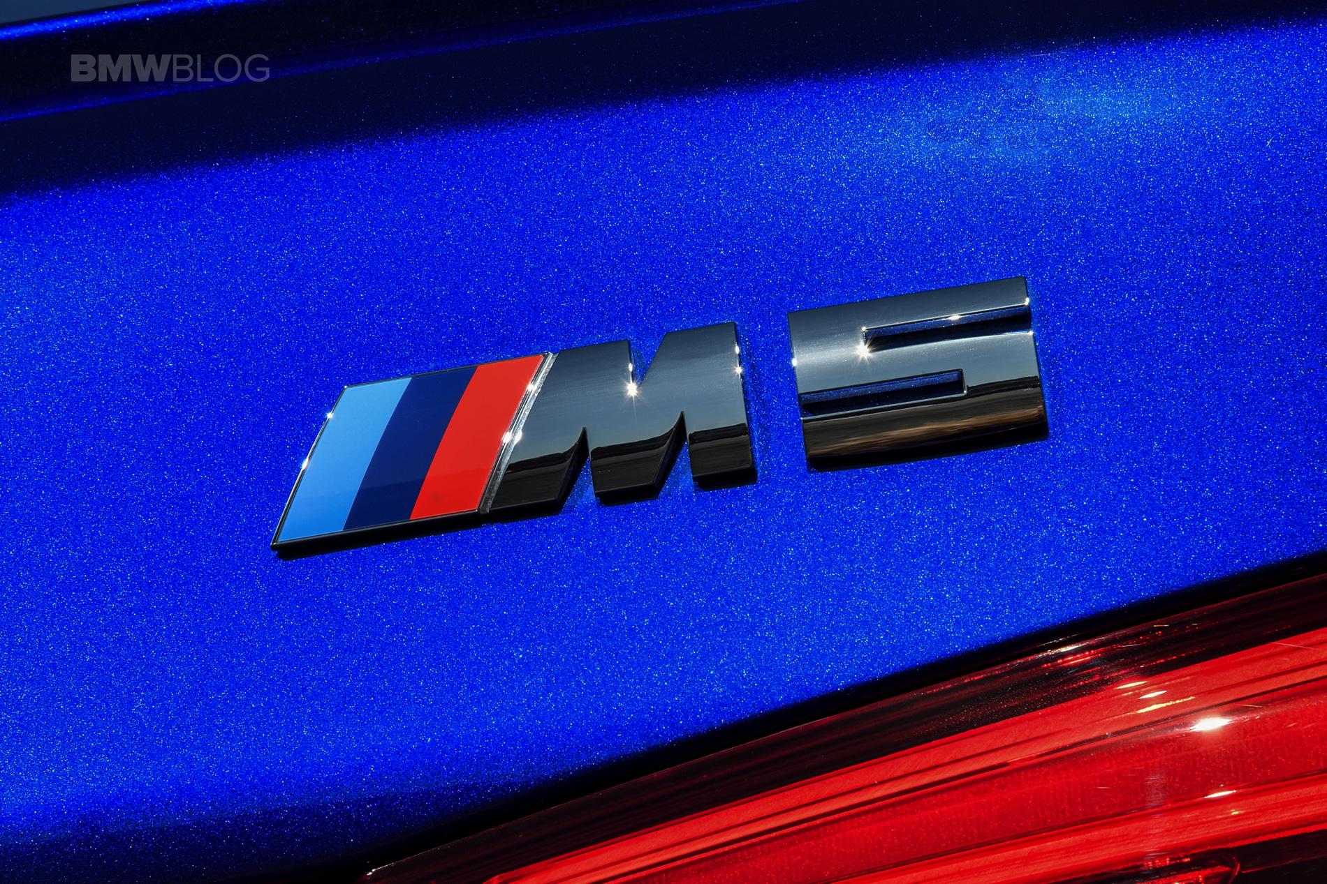 2018 BMW M5 test drive 116