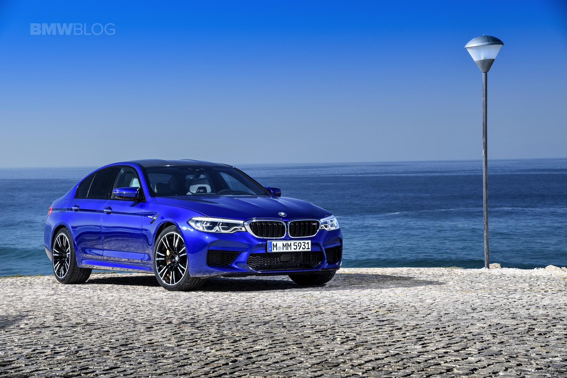 2018 BMW M5 test drive 12