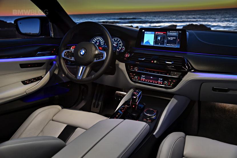 2018 BMW M5 test drive 122 830x553
