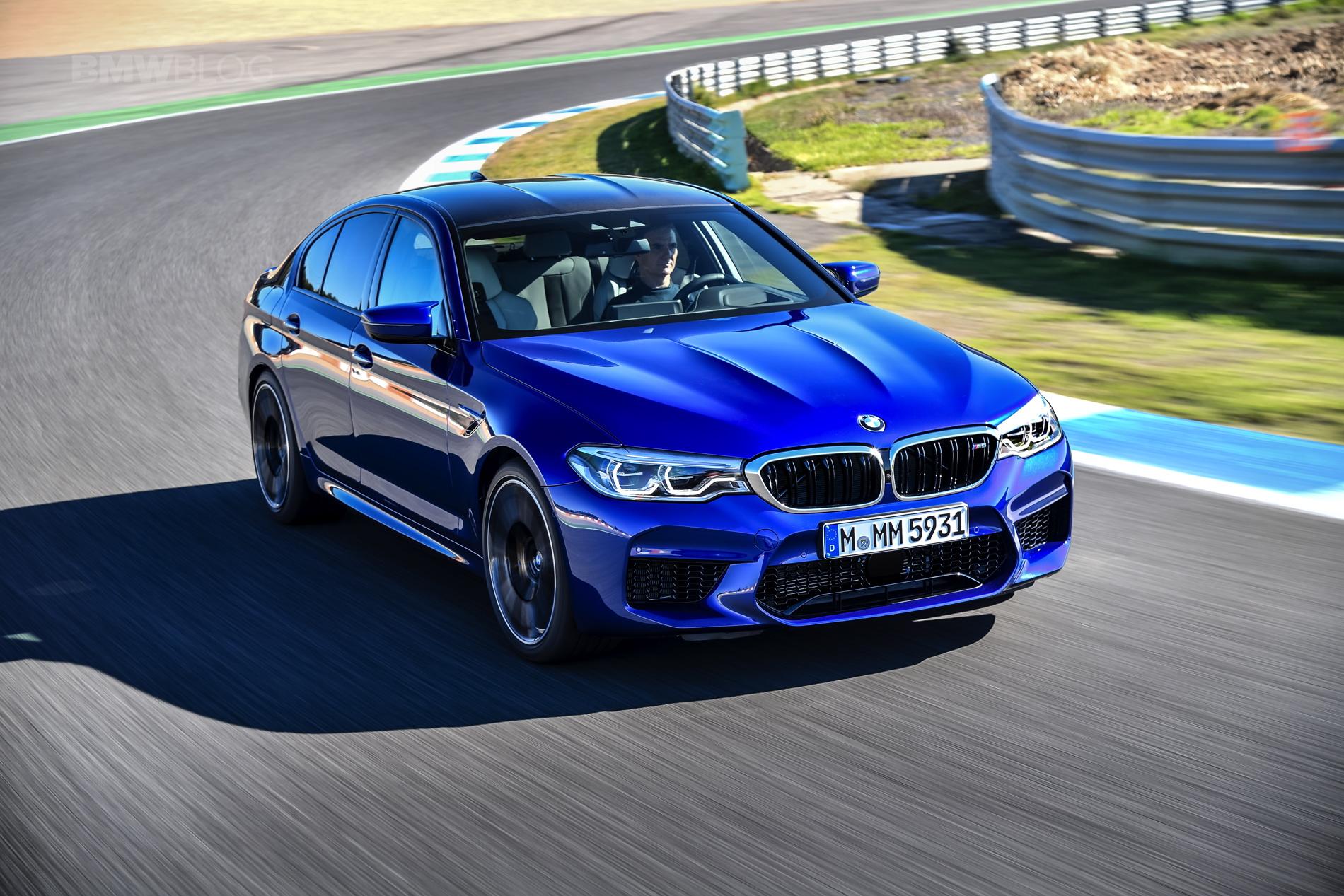 2018 BMW M5 test drive 44