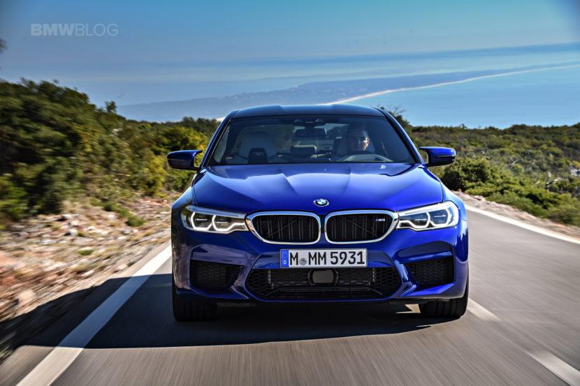 2018 BMW M5 test drive 71 830x553