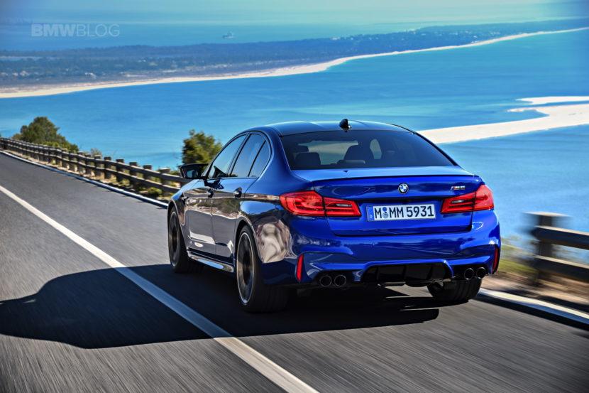 2018 BMW M5 test drive 74 830x553