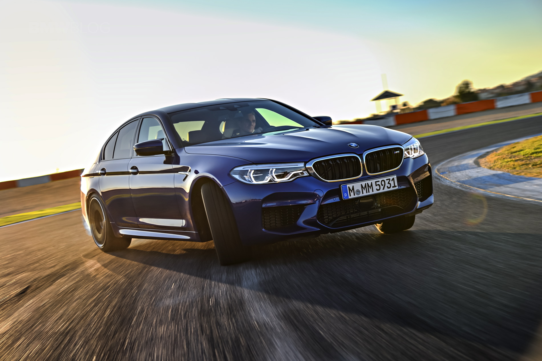 2018 BMW M5 test drive 90