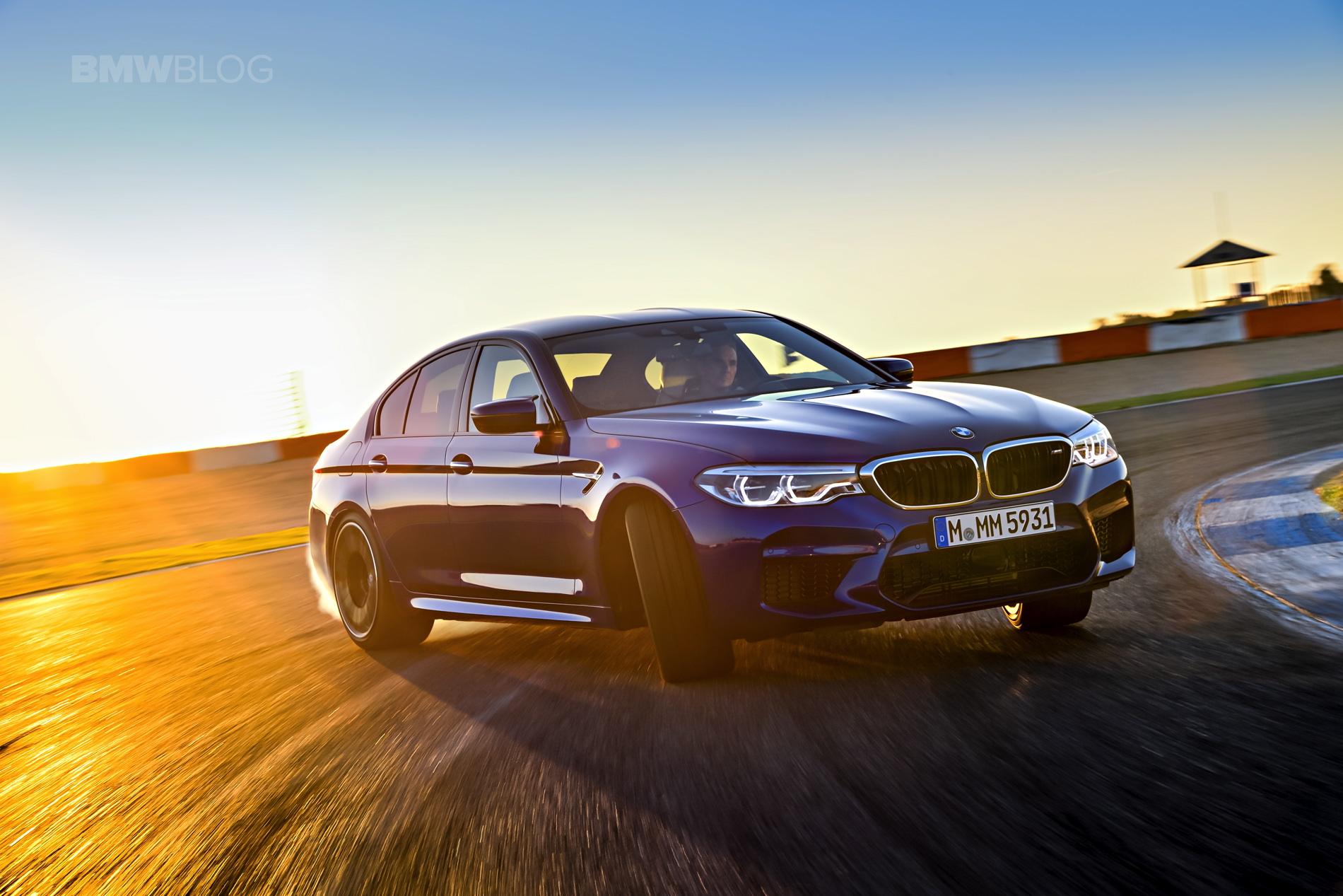 2018 BMW M5 test drive 91