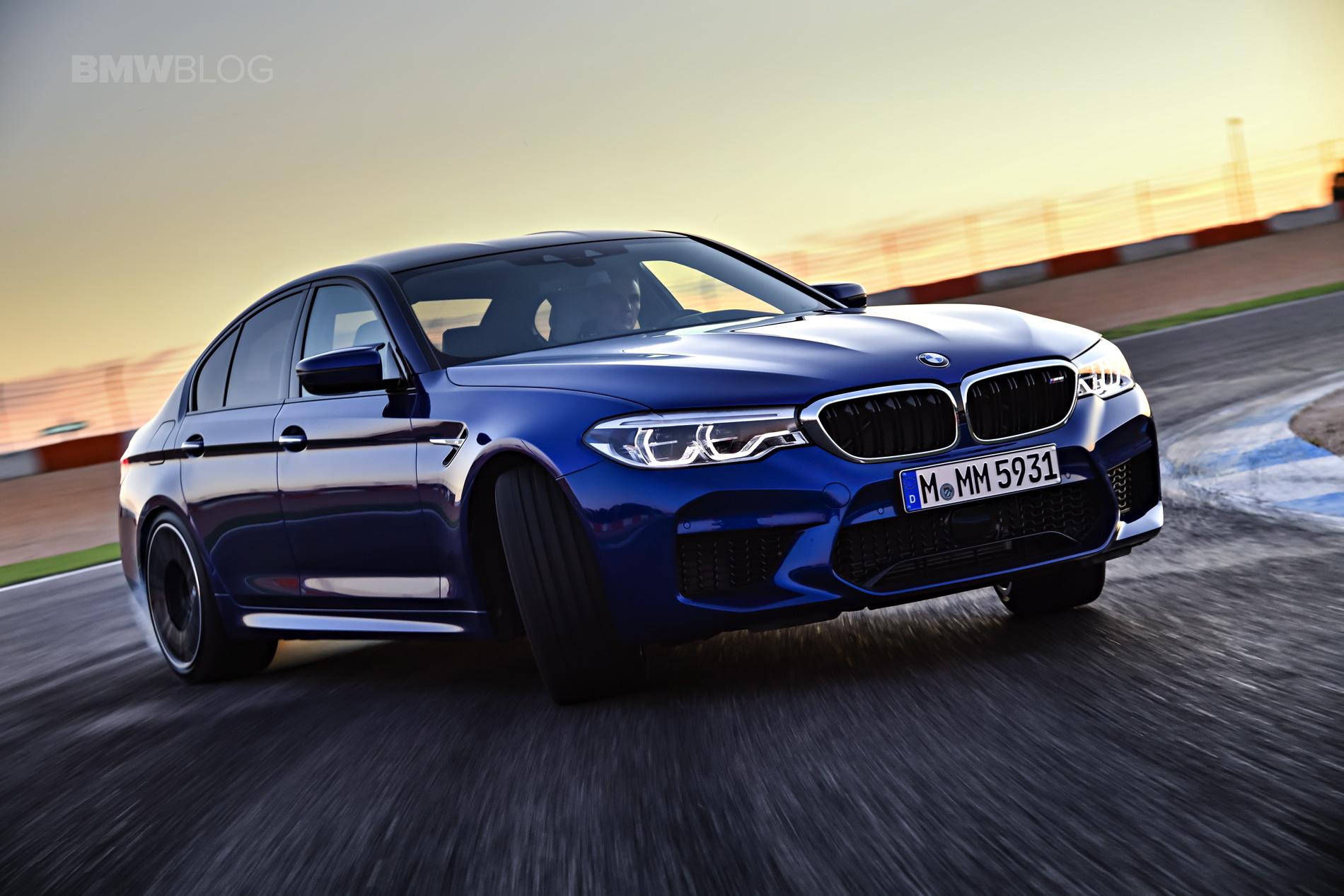2018 BMW M5 test drive 94