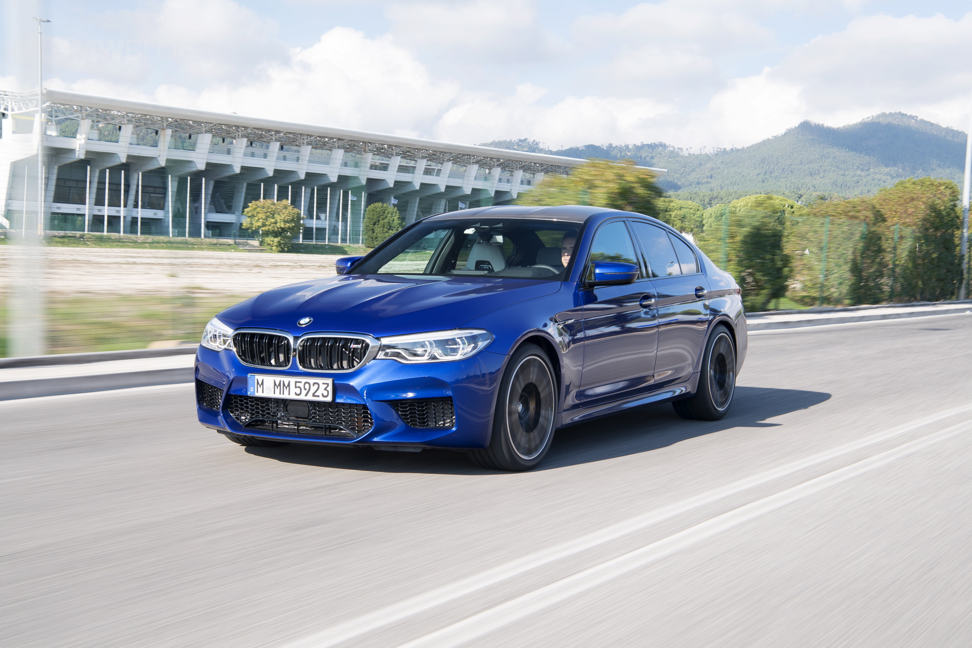 2018 BMW M5 test drive horatiu 05