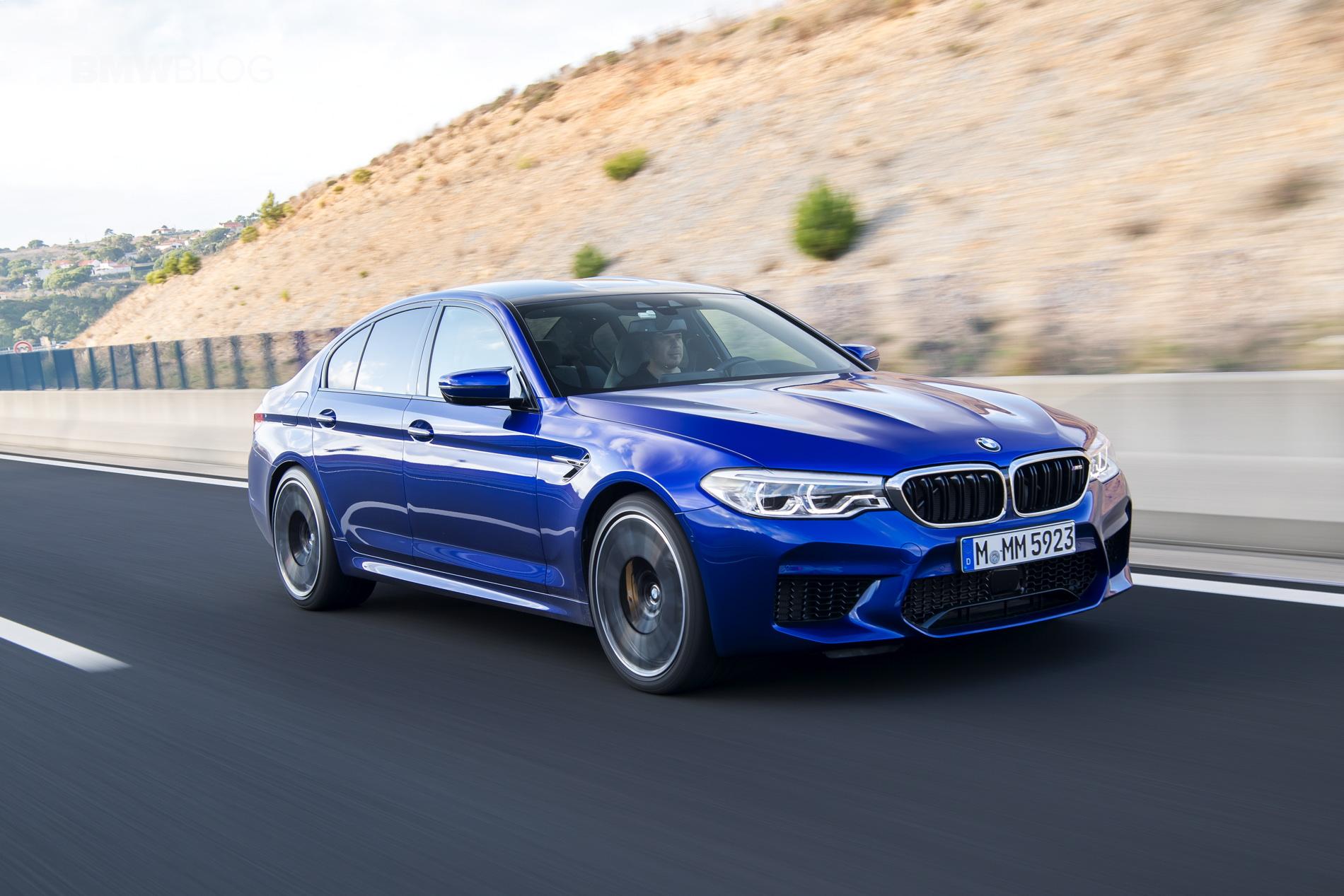 2018 BMW M5 test drive horatiu 12