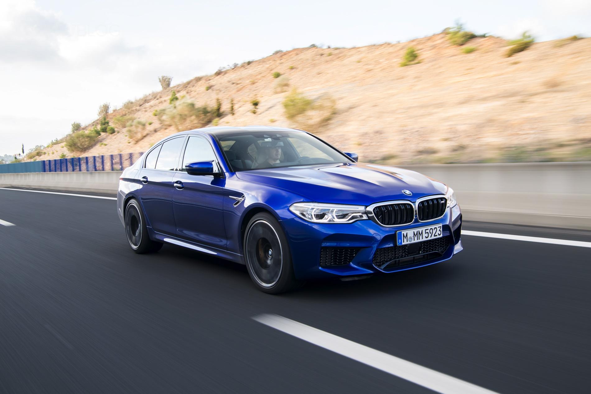 2018 BMW M5 test drive horatiu 13