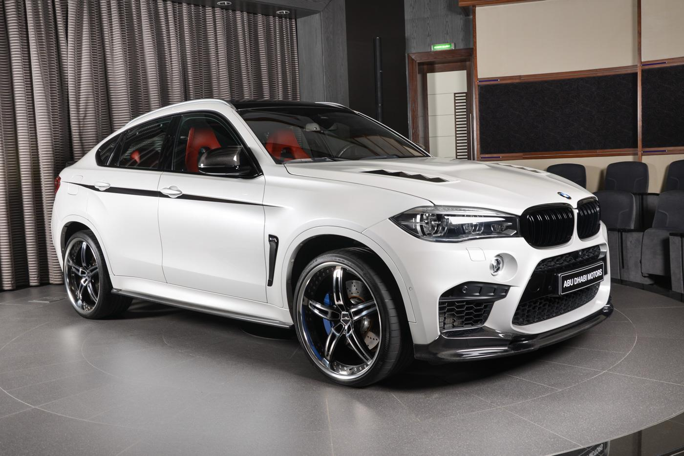 BMW X6 M Has All The Tuning Bits In Abu Dhabi