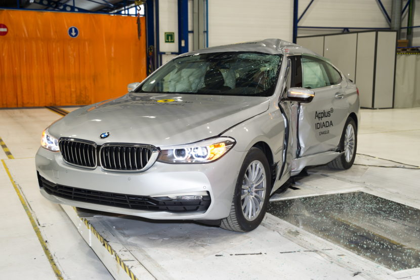 BMW 6 Series GT crash test 02 830x553