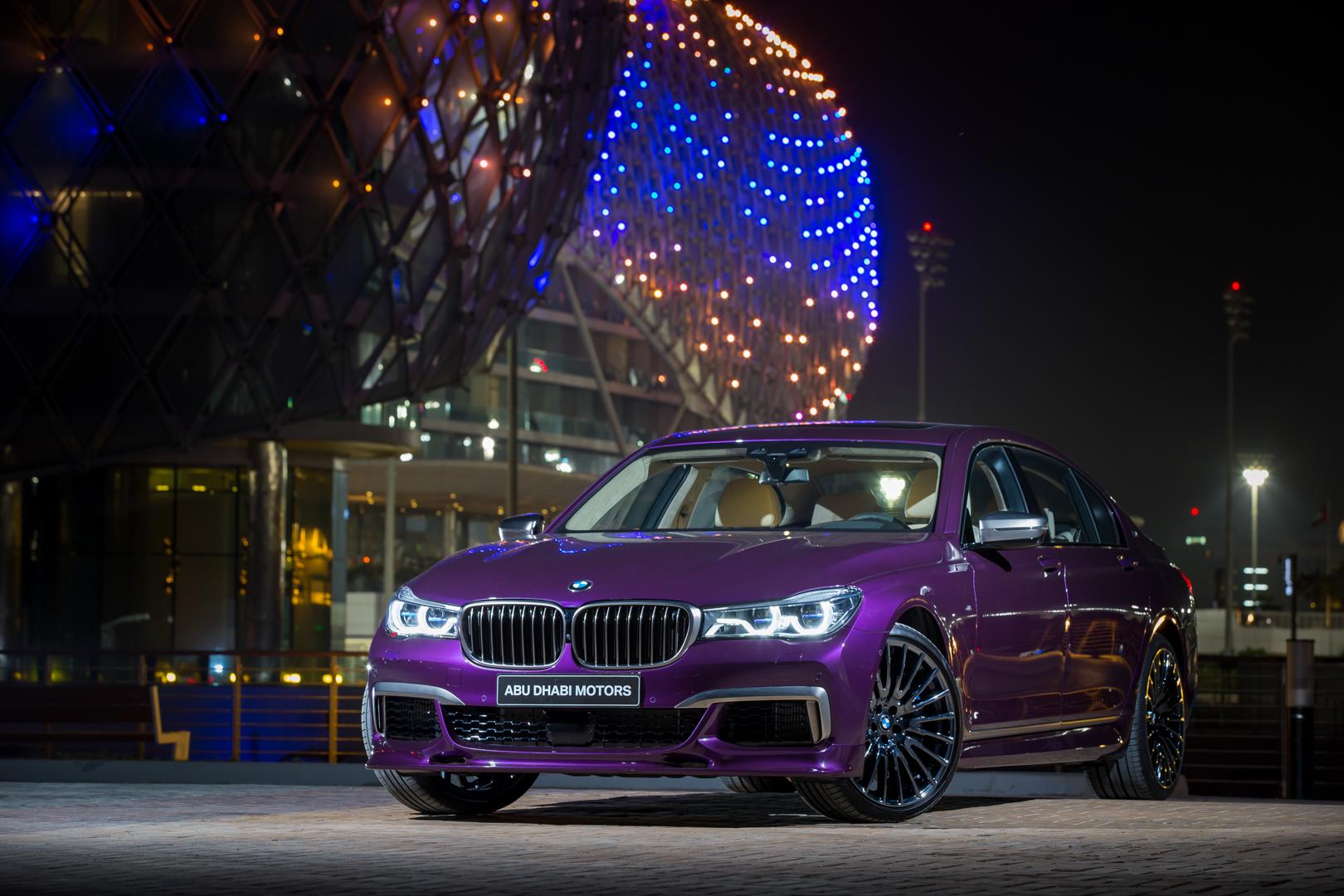 BMW 7 Series Abu Dhabi Motos 6
