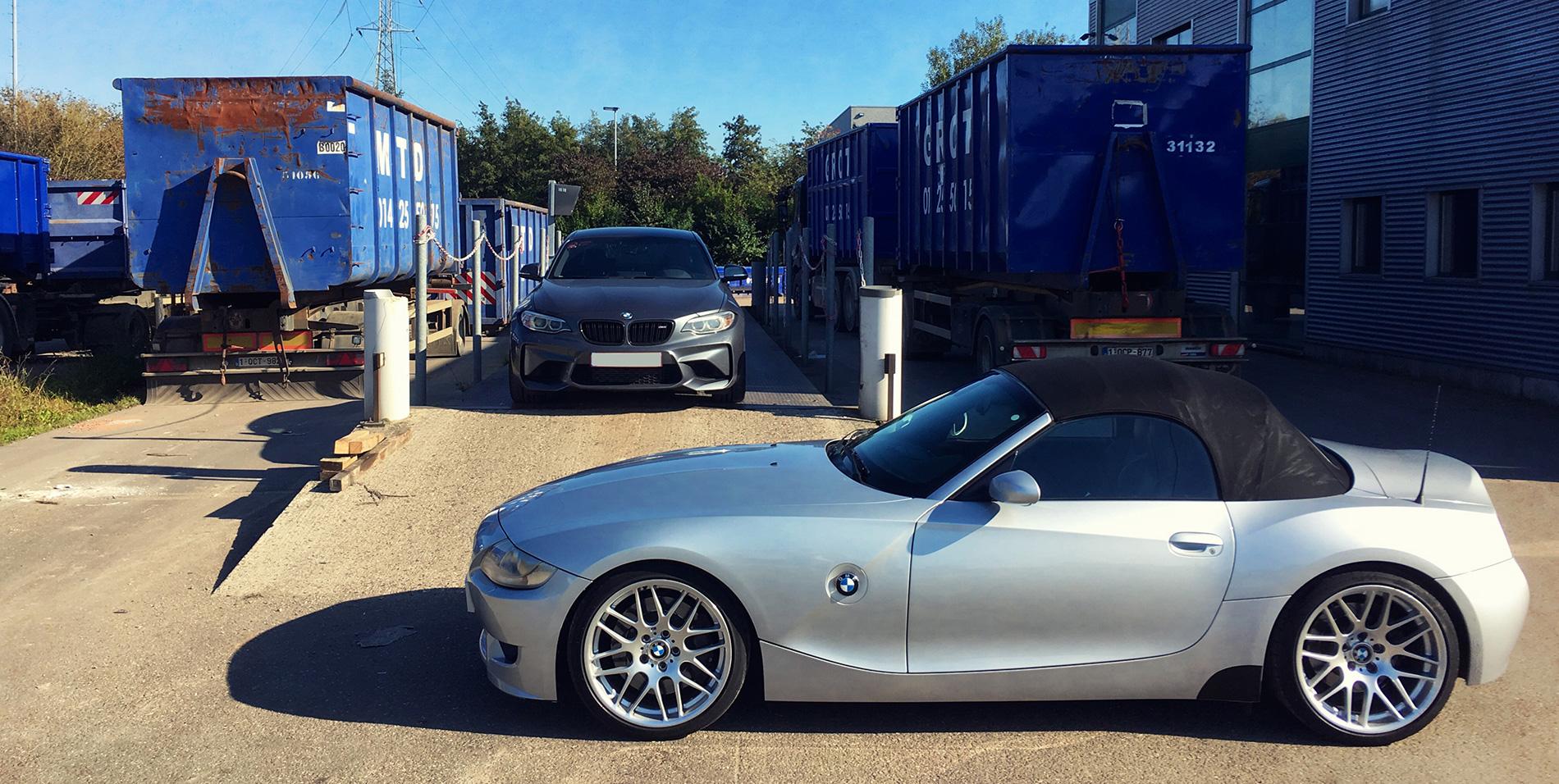 BMW M2 vs BMW Z4M