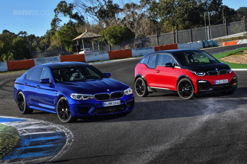 BMW M5 i3s race track 03 830x553
