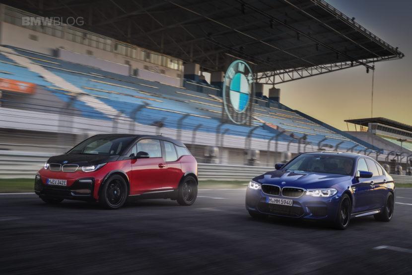 BMW M5 i3s race track 17 830x553