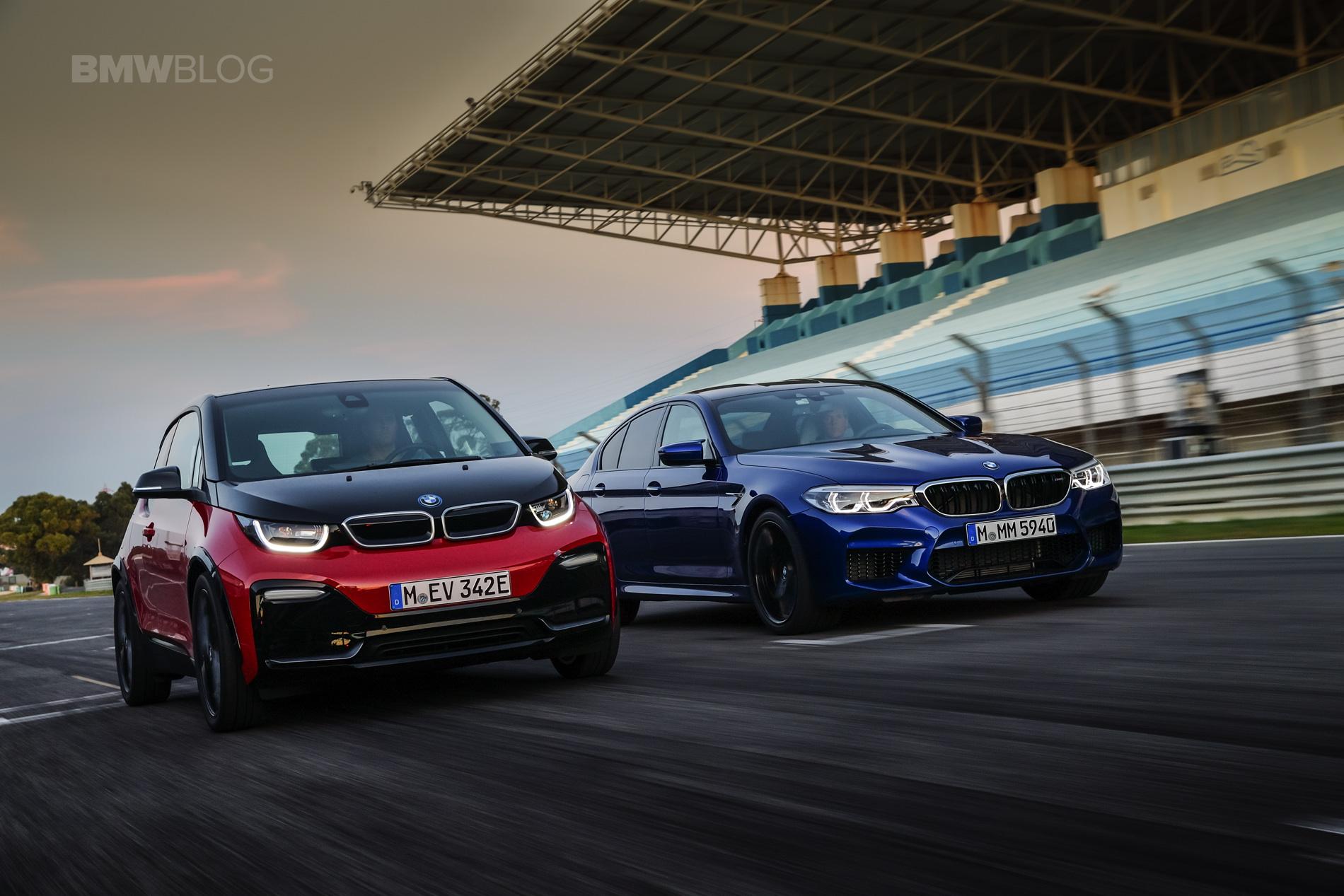 BMW M5 i3s race track 19