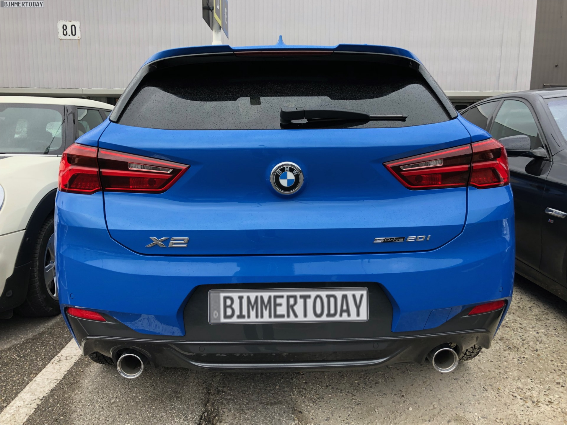 Live Photos Of The Bmw X2 Spotted In Germany