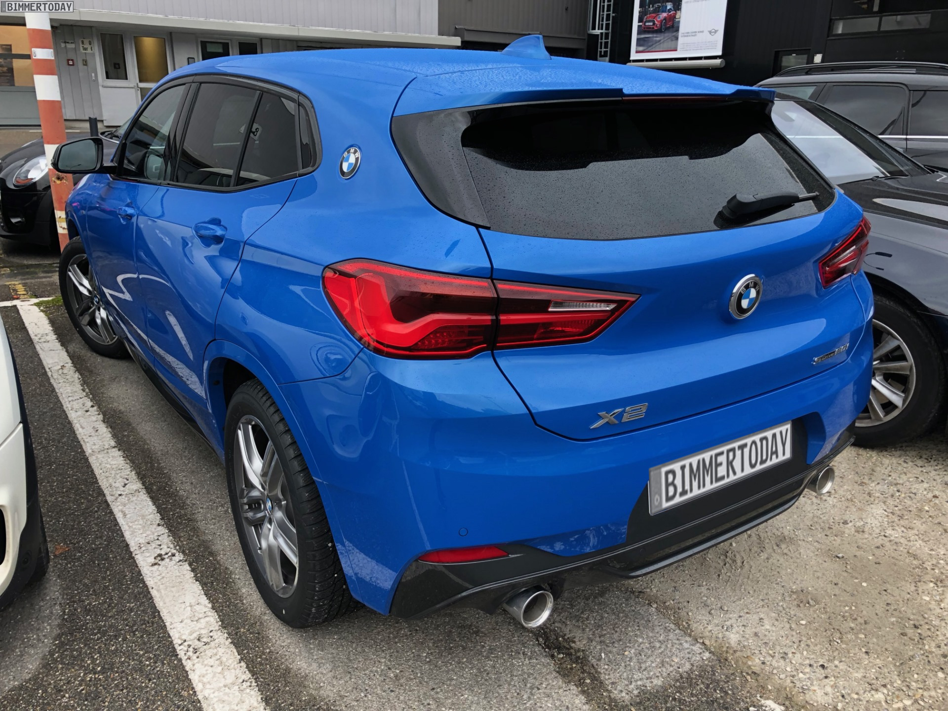 Bmw X1 Vs X2 >> Live Photos of the BMW X2 spotted in Germany