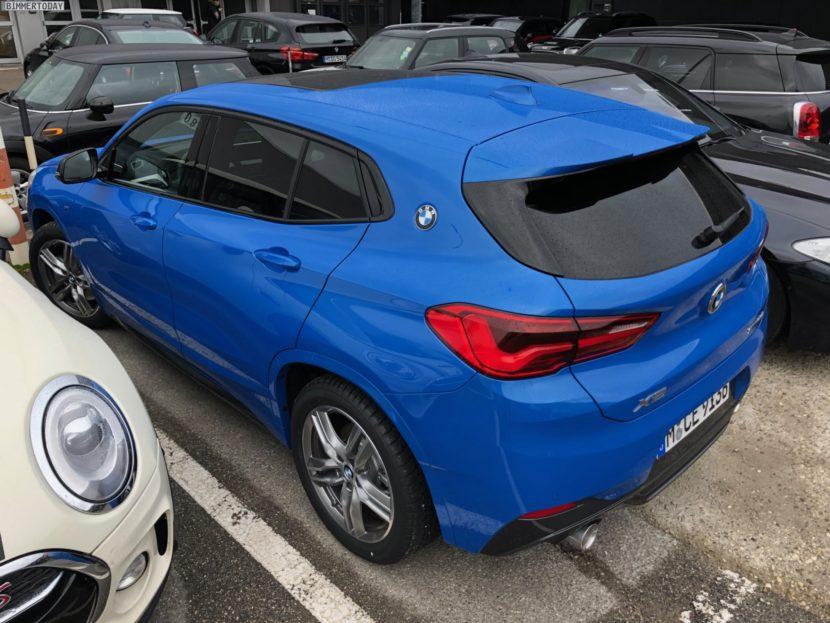 BMW X2 M Sport Misano Blau F39 Live Fotos 08 830x623