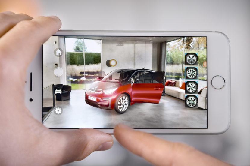 BMW i Augmented IOS Reality 830x553