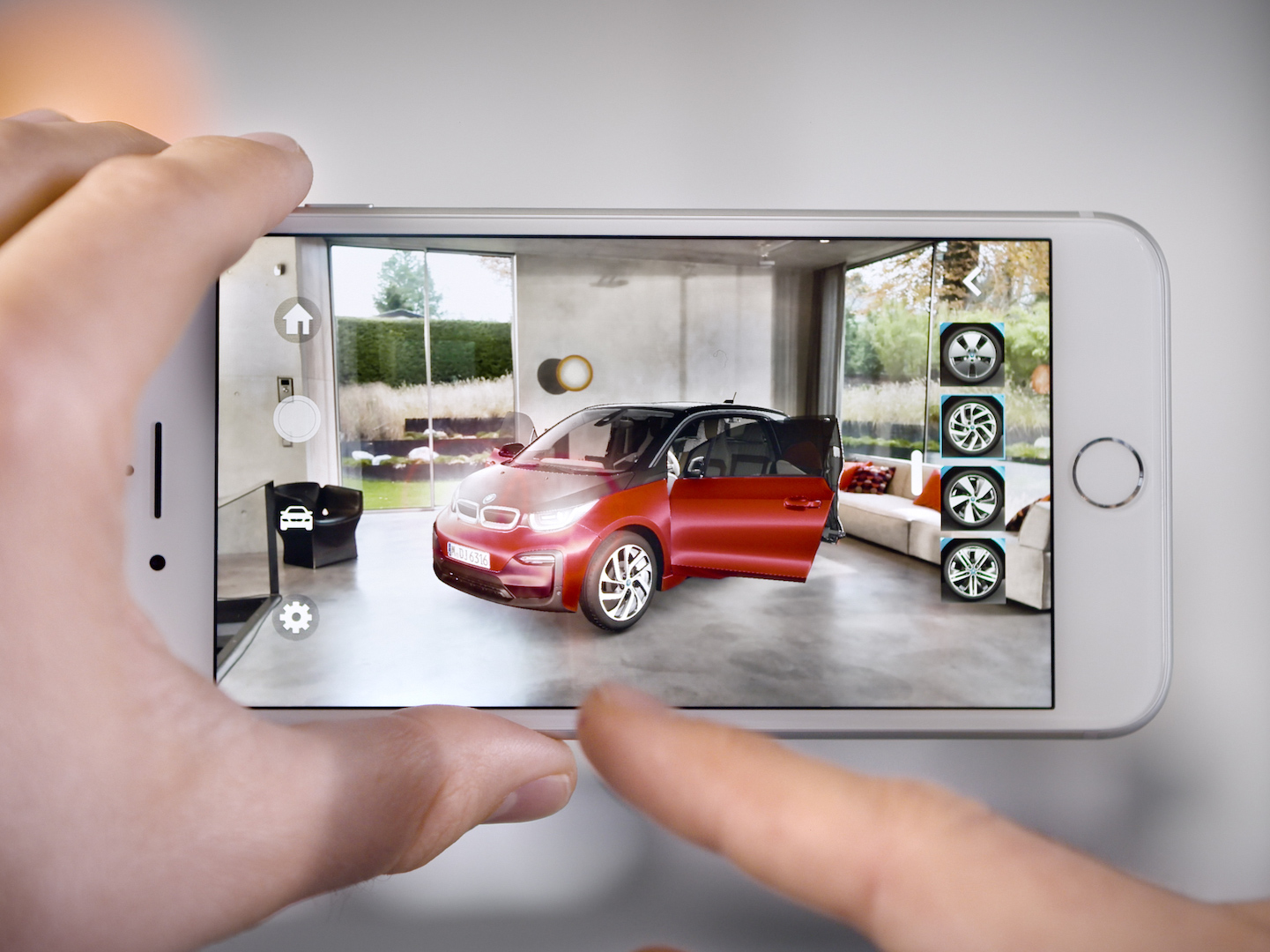 BMW i Augmented IOS Reality