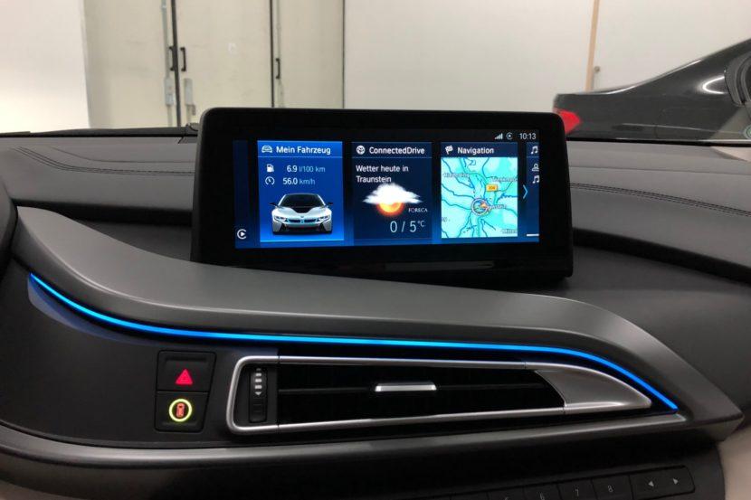BMW i8 iDrive ID6 Umbau 2018 Infotainment Bimmer Manufaktur 01 830x553