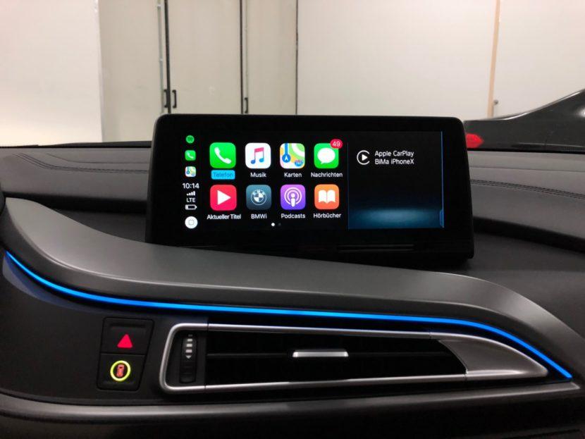 BMW i8 iDrive ID6 Umbau 2018 Infotainment Bimmer Manufaktur 04 830x623